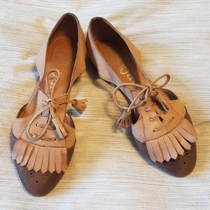 Jeffrey Campbell oxfords cut outs